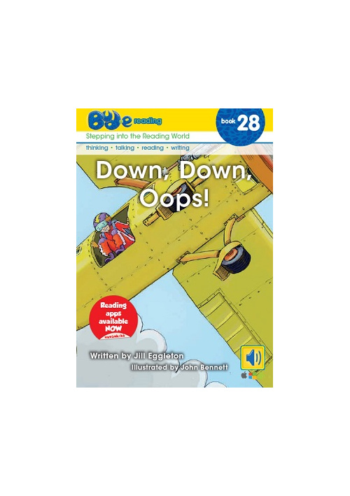 Bud-e Reading 28: Down, Down, Oops!