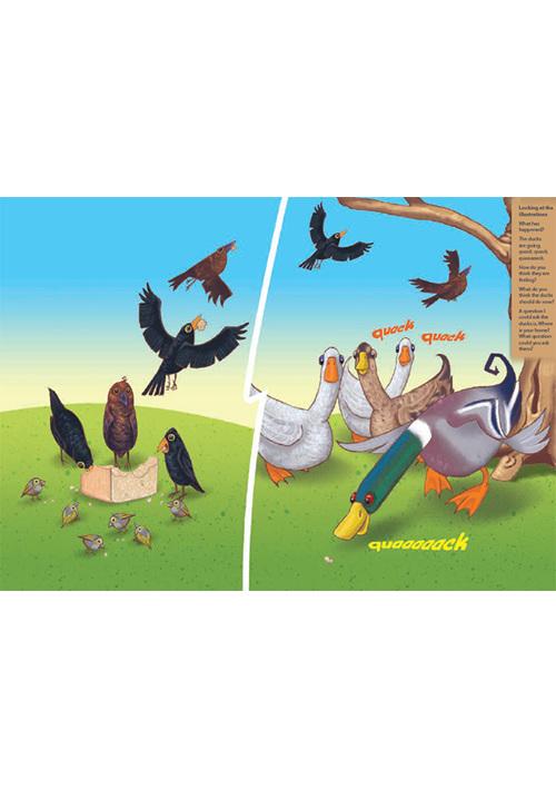 Bud-e Reading 3: The Hungry Ducks
