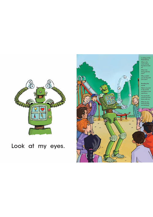 Bud-e Reading 31: Silly Robot