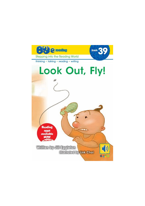 Bud-e Reading 39: Look Out, Fly!