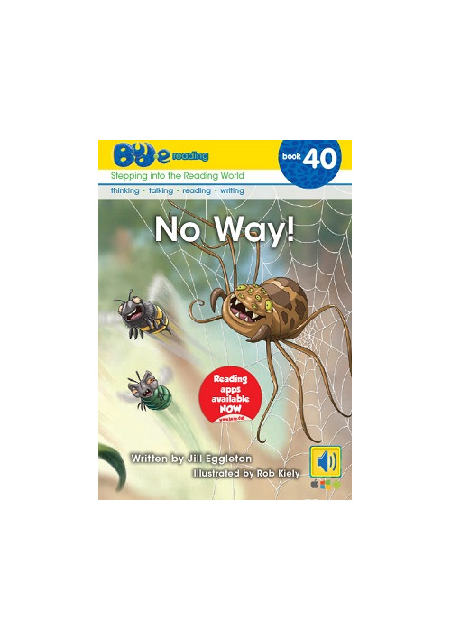 Bud-e Reading 40: No Way!