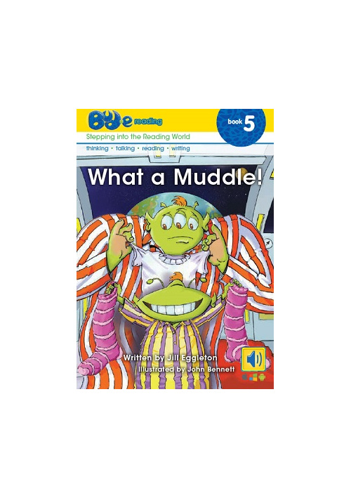 Bud-e Reading 5: What a Muddle!