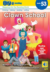 Bud-e Reading 53: Clown School