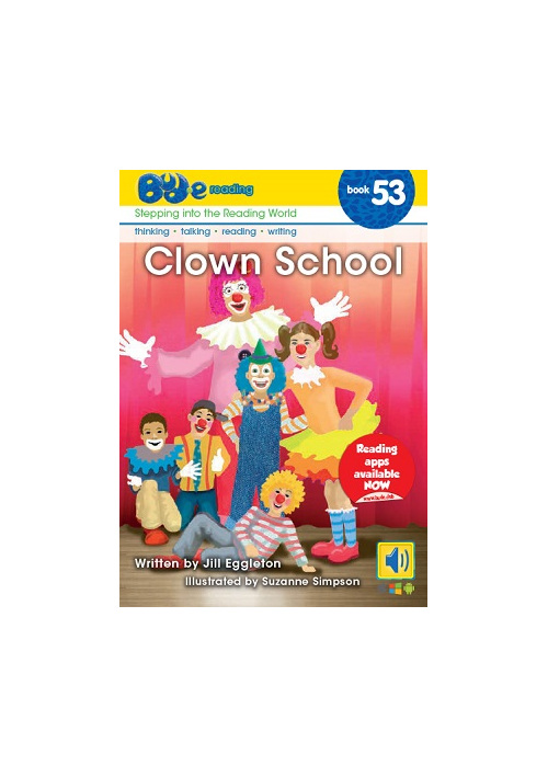 Bud-e Reading 53: Clown School