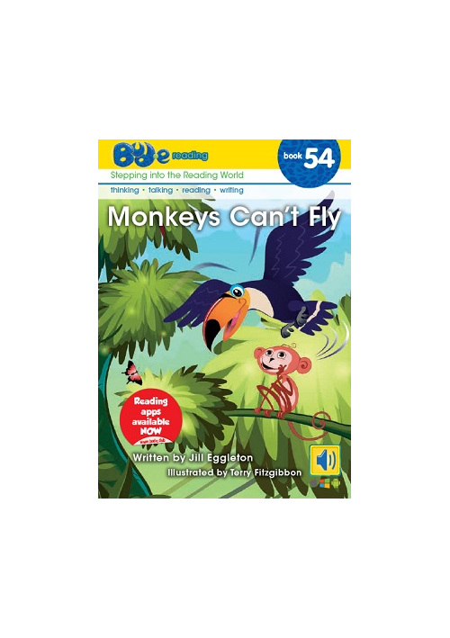 Bud-e Reading 54: Monkeys Can't Fly