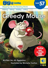 Bud-e Reading 57: Greedy Mouse