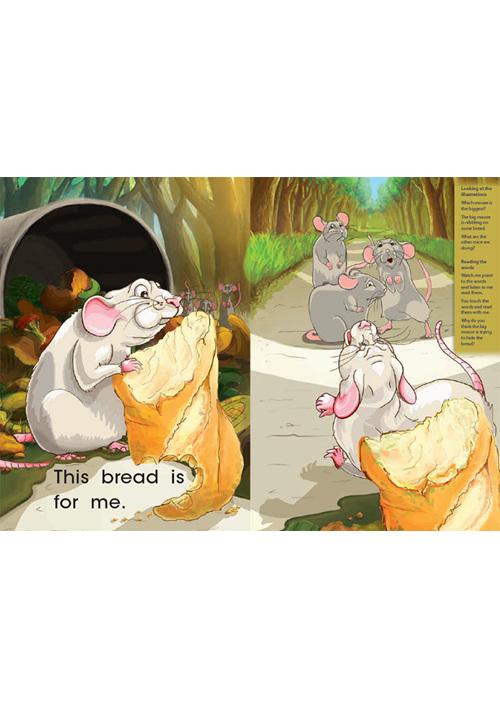 Bud-e Reading 57: Greedy Mouse