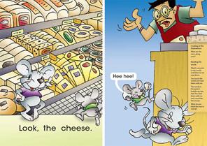 Bud-e Reading 8: Mice Mischief