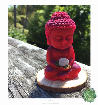 Buddha - Hot Pink and Purple