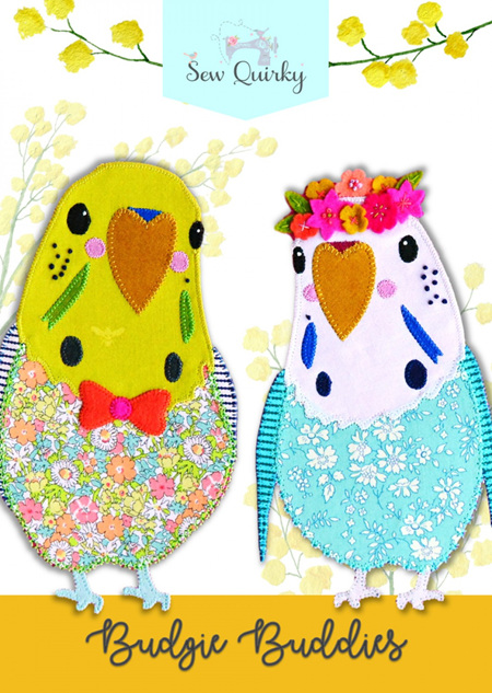 Budgie Buddies Pattern