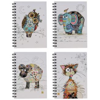 BUG ART KOOKS NOTEBOOK 4 ASSORTED DESIGNS