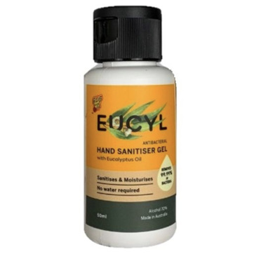 BUG-GRRR OFF EUCYL H/SANI 50ML