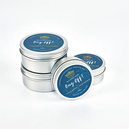 Bug Off! - Citronella Candle Tin
