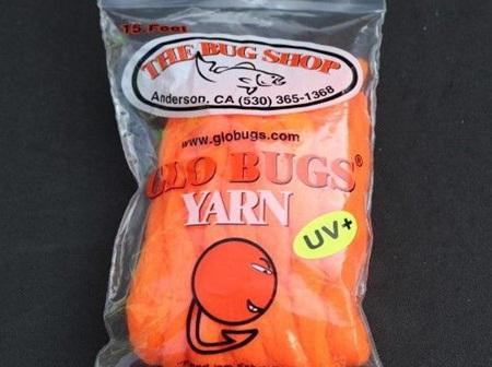 Bug Shop 8mm UV Glo Bug Yarn