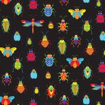 Bugs and Critters Allover