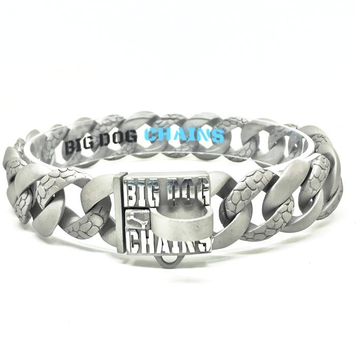 Bully Rocky Large Strong Dog Collar by Big Dog Chains