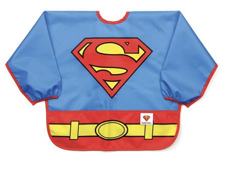 Bumkins Costume Sleeved Bib Superman