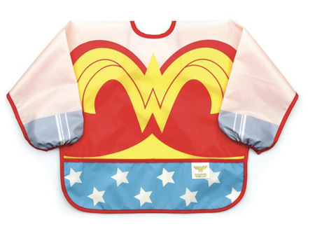 Bumkins Costume Sleeved Bib Wonder Woman