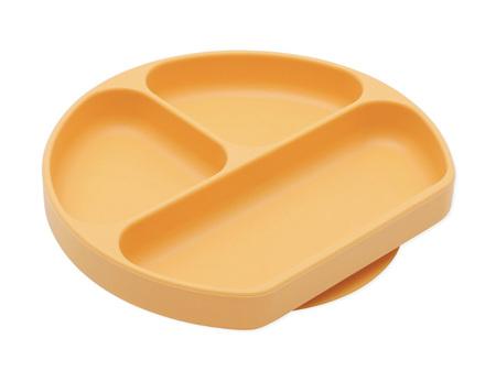 Bumkins Silicone Grip Dish Tangerine