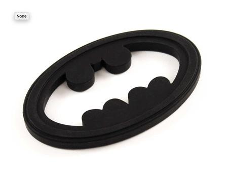 Bumkins Silicone Teether Batman Icon