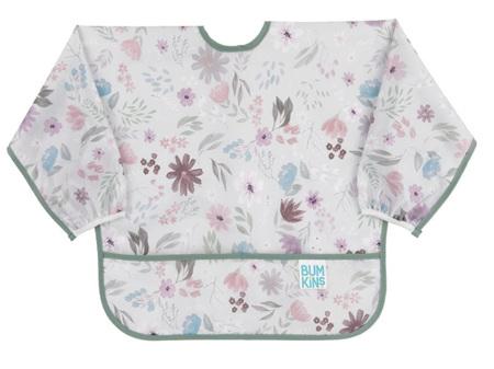 Bumkins Sleeved Bib Floral