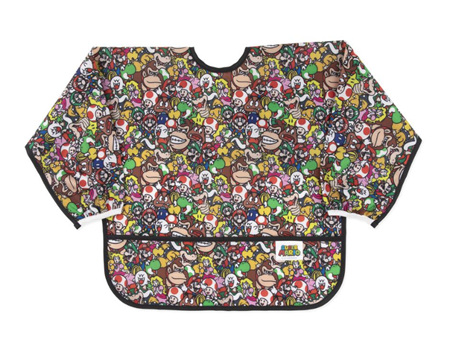 Bumkins Sleeved Bib Nintendo Characters