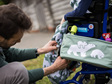 BundleBean Buggy/Wheelchair Organiser