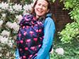 BundleBean fleece-lined babywearing cover
