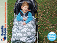 BundleBean Kids Wheelchair Raincover