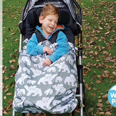 BundleBean Kids Wheelchair Raincover