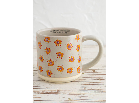 Bungalow Mug Yellow Flower