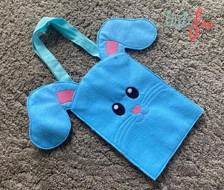 Bunny Bag Blue & Pink