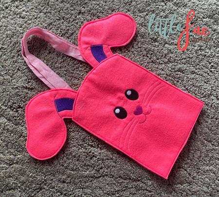 Bunny Bag Pink & Purple
