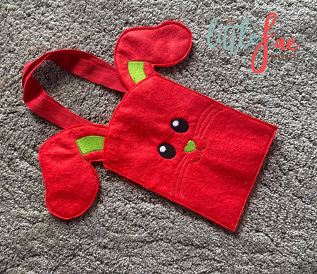 Bunny Bag Red & Green