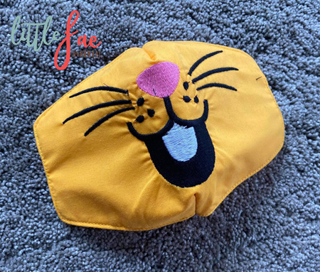 Bunny Face Mask Yellow