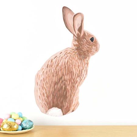 Bunny wall decal