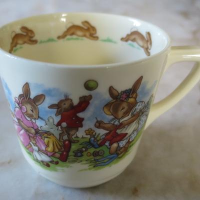 Royal Doulton Bunnykins cup