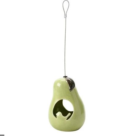 Burgon and Ball Bird Feeder Ceramic Pear