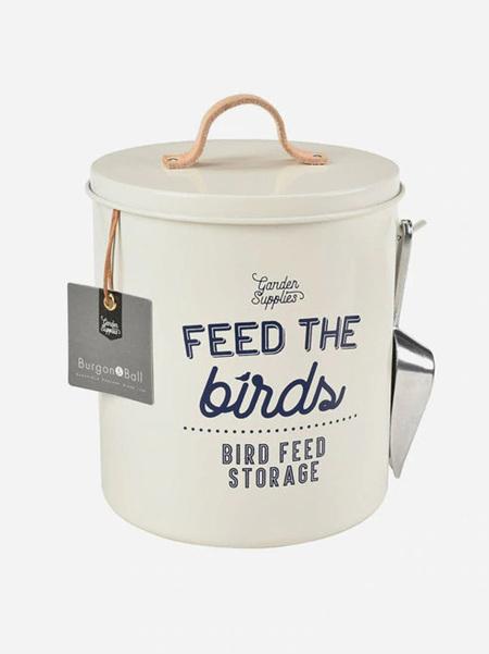 Burgon and Ball Bird Food Tin