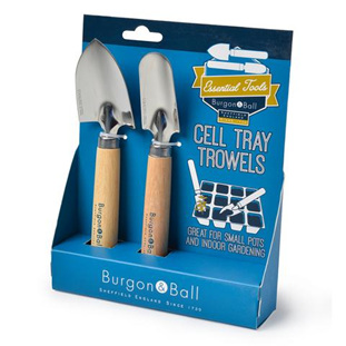 Burgon and Bell Cell Tray Trowels