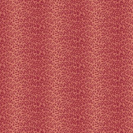 Burgundy Leaf Stripe A-9132-R