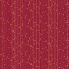 Burgundy Lightening Stripe A-9131-R