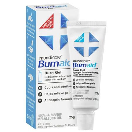 BURNAID BURN GEL 25G