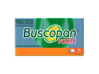 BUSCOPAN FORTE 20MG TABLET 10