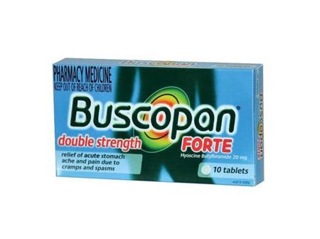 Buscopan Forte 20mg Tablets 10