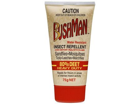 BUSHMAN HEAVY DUTY DRY GEL 80% DEET 75G