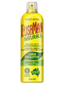 BUSHMAN Naturals Pump Spray 145ml