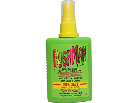 BUSHMAN Plus Pump Spray 100ml