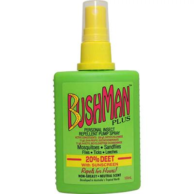 BUSHMAN Plus Pump Spray 100ml