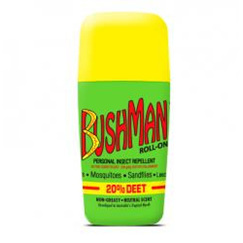 BUSHMAN ROLL-ON 20% DEET 65G